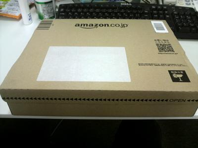 MagSafeが入ったAmazonの箱