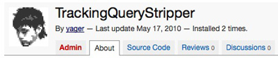 TrackingQueryStripper