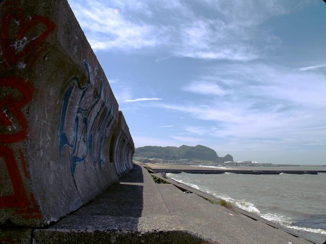 ある海岸の風景 (1pic)